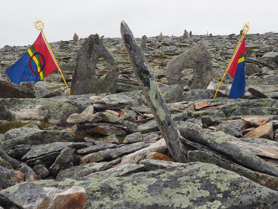 Blåskjerdingen flaggborg